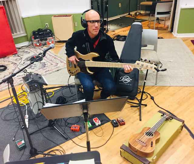 Jerry Watts Jr. In Studio