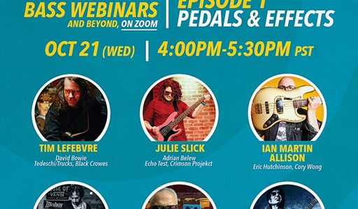 LOW END LIVE free MASTERCLASS! EPISODE 1: PEDALS & EFFECTS